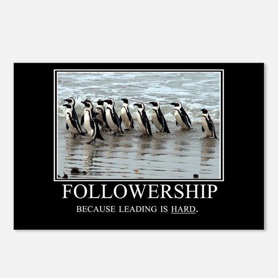Followership Postcards (Package of 8)