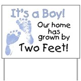 Baby boy Yard Signs