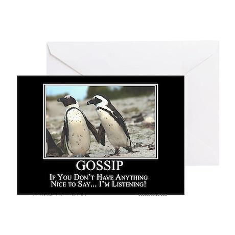 Gossip Greeting Cards (Pk of 10)