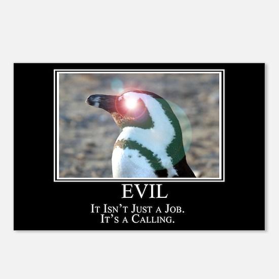 Evil Postcards (Package of 8)