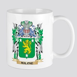 Malone Coat of Arms - Family Crest Mugs