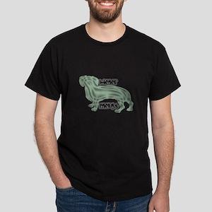 Wierner Energy Dachshund Dark T-Shirt