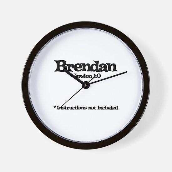 Brendan Version 1.0 Wall Clock