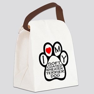 I Love My Soft Coated Wheaten Ter Canvas Lunch Bag