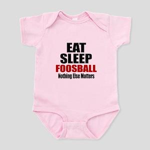 Eat Sleep Foosball Infant Bodysuit