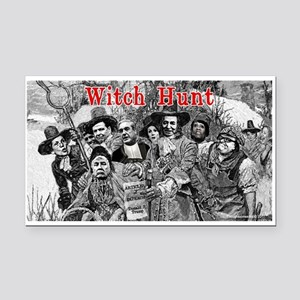 Witch Hunt: The Indictment Rectangle Car Magnet