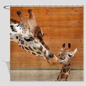 Giraffe_20171201_by_JAMFoto Shower Curtain