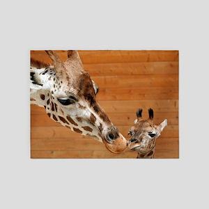 Giraffe_20171201_by_JAMFoto 5'x7'Area Rug