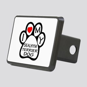 I Love My Sealyham Terrier Rectangular Hitch Cover
