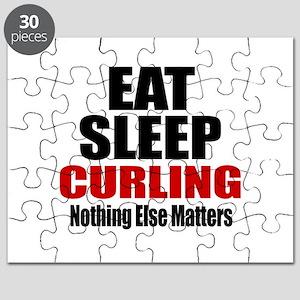 Eat Sleep Curling Puzzle