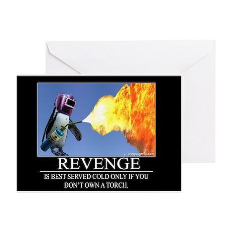 Revenge Greeting Cards (Pk of 10)