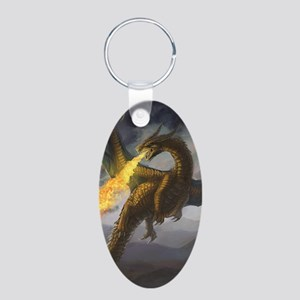 Dragon Spiting Fire Keychains
