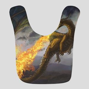 Dragon Spiting Fire Bib