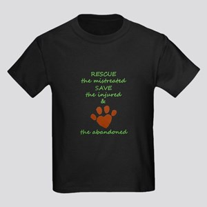 RESCUE the mistreated SAVE the injured LOV T-Shirt