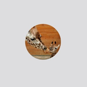 Giraffe_20171201_by_JAMFoto Mini Button