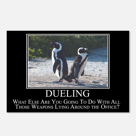 Dueling Postcards (Package of 8)