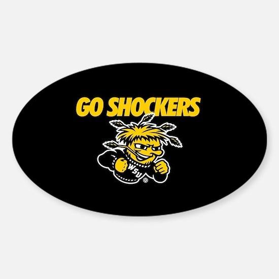 Go Shockers Sticker (Oval)