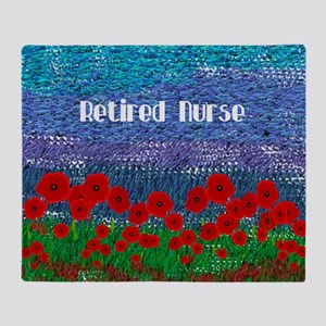 Poppy Field Throw Blanket