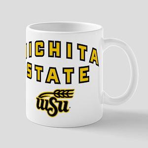 Wichita State Initials 11 oz Ceramic Mug