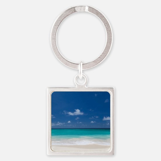 Beautiful Beach Tropical Keychains