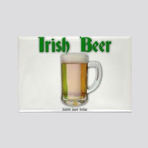 Irish Beer Rectangle Magnet