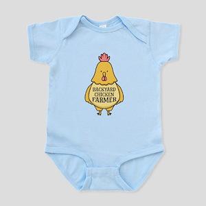 Backyard Chicken Farmer Body Suit