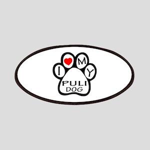 I Love My Puli Dog Patch