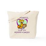 Thanksgiving Kids Tote Bag