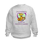 Thanksgiving Kids Kids Sweatshirt