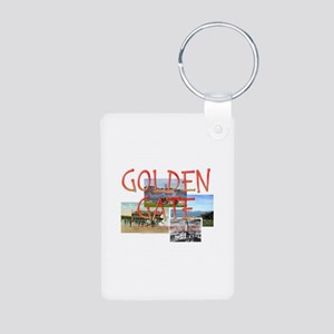 ABH Golden Gate Aluminum Photo Keychain