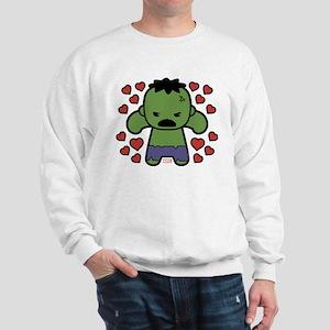 Hulk Hearts Sweatshirt