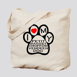 I Love My Petit Basset Griffon Vendeen Do Tote Bag