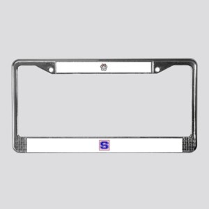 I Love My Parson Russell Terri License Plate Frame