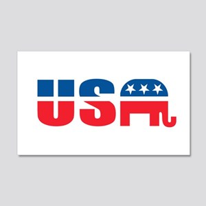 USA Wall Decal