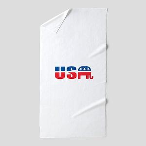 USA Beach Towel