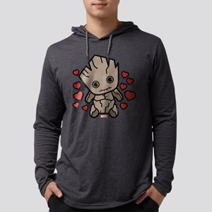 Groot Hearts Mens Hooded Shirt