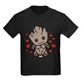 Valentines day Kids T-shirts (Dark)