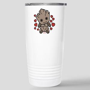 Groot Hearts 16 oz Stainless Steel Travel Mug