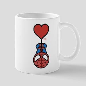 Spider-Man Heart 11 oz Ceramic Mug