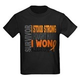Leukemia survivor Kids T-shirts (Dark)