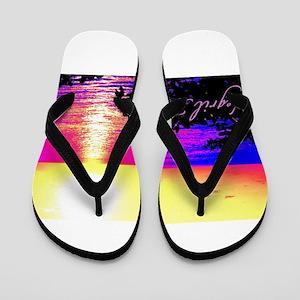 Negril, Jamaica Flip Flops