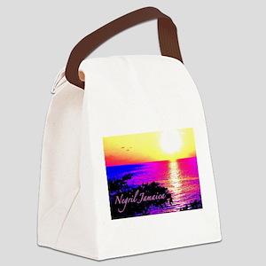 Negril, Jamaica Canvas Lunch Bag