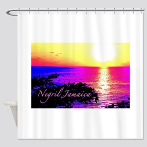 Negril, Jamaica Shower Curtain