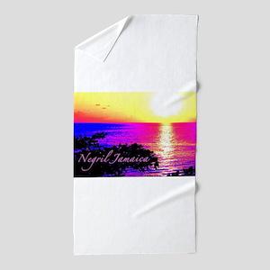 Negril, Jamaica Beach Towel