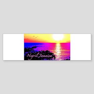 Negril, Jamaica Bumper Sticker