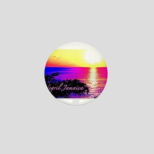 Negril, Jamaica Mini Button
