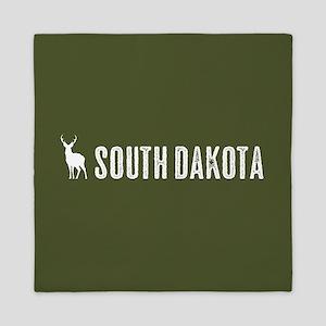 Deer: South Dakota Queen Duvet