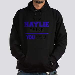 It's HAYLIE thing, you wouldn't unde Hoodie (dark)