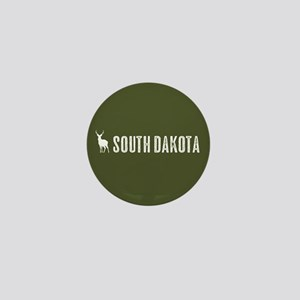 Deer: South Dakota Mini Button