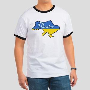 Cool Ukraine Ringer T